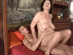 Facials;Grannies;Matures;MILFs;Old+Young